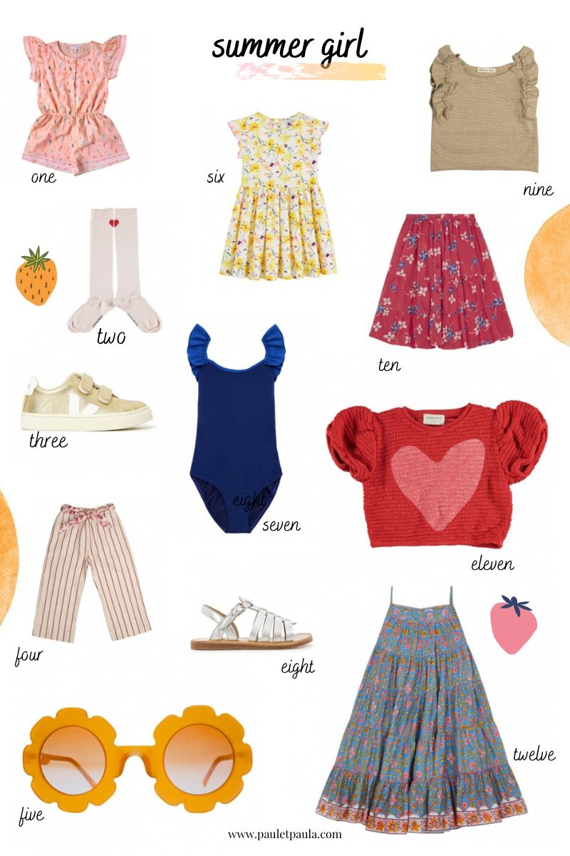 summer clothes girl