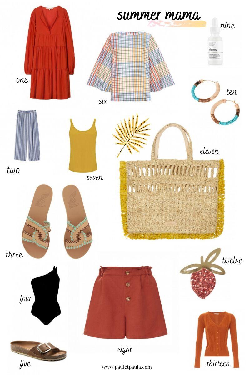 summer clothes mum