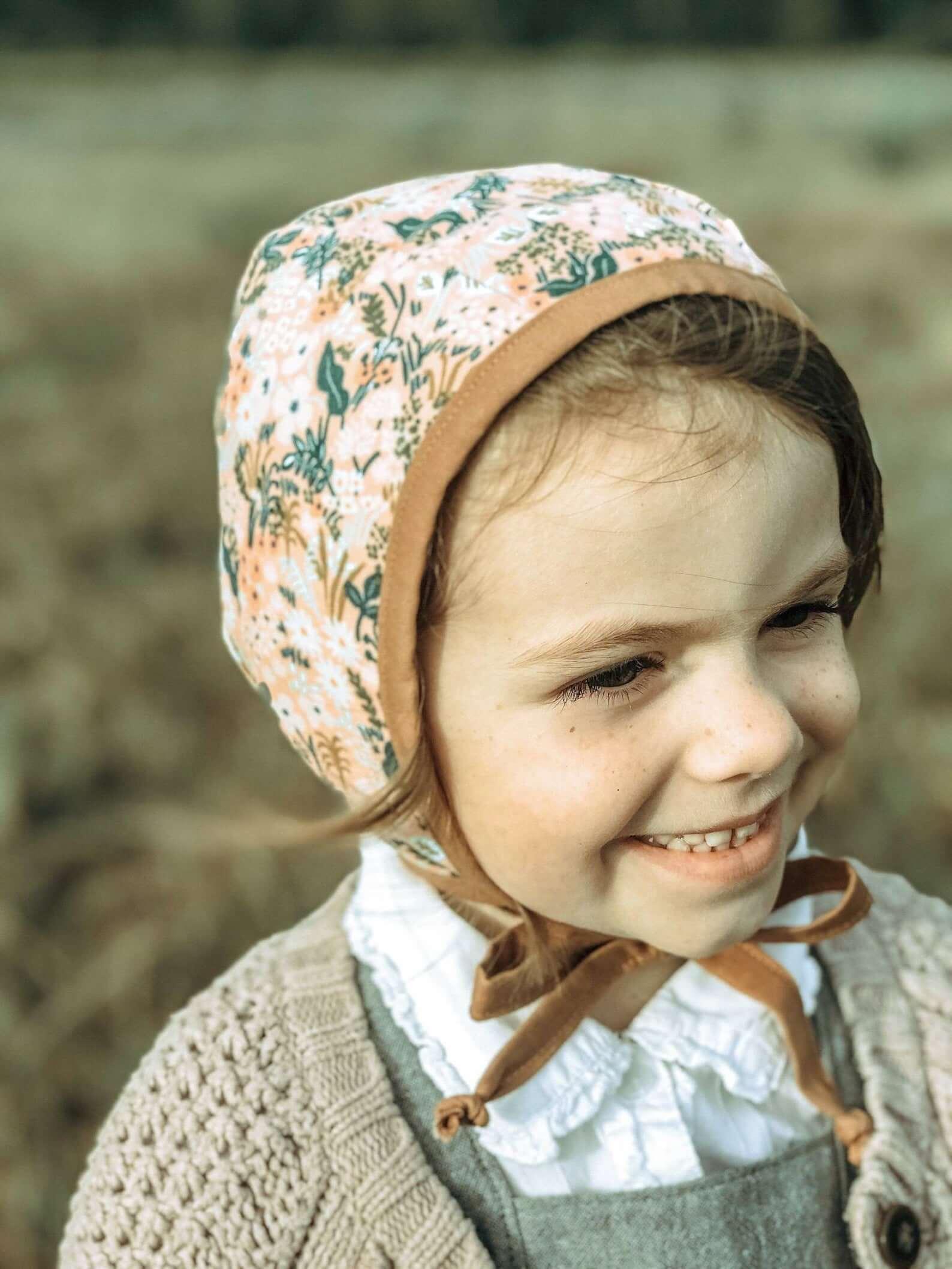 child bonnet