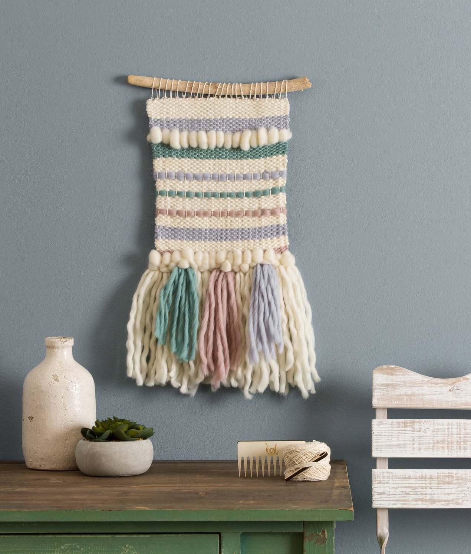 macrame weaving loom diy kit