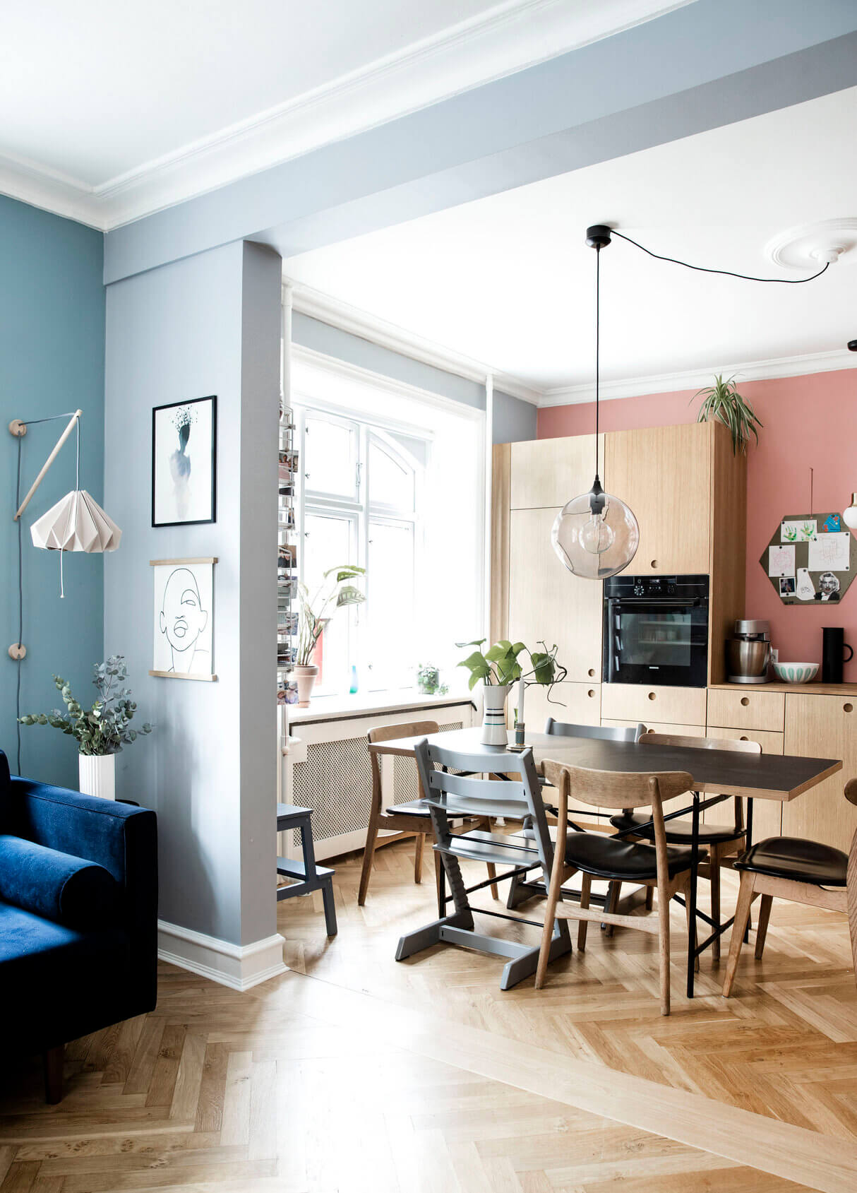 Creative Colorful Family Apartment Copenhagen