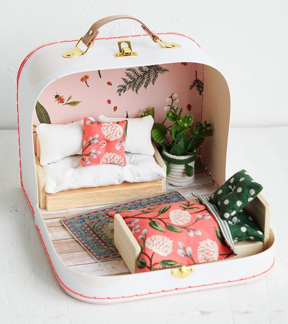 dollhouse suitcase