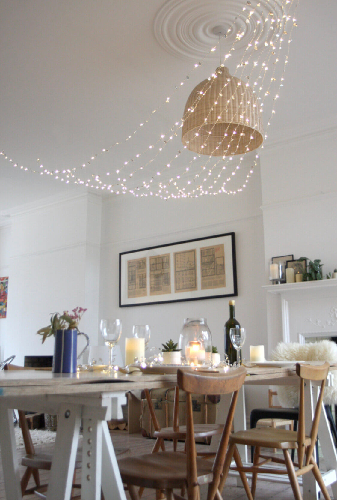 interior fairy lights