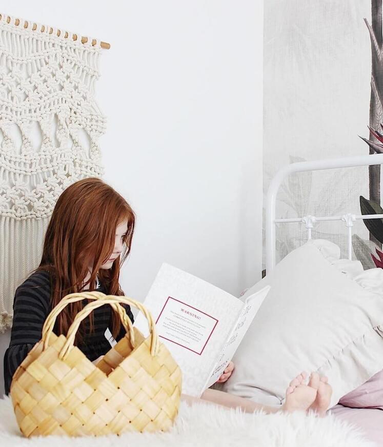 boho girls room