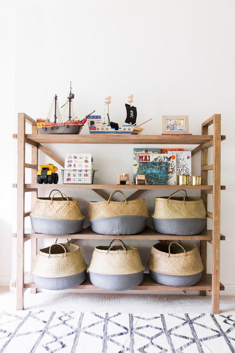 woven baskets toy storage