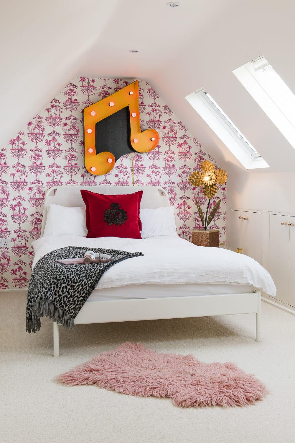 eclectic children's room