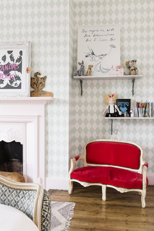 eclectic children's room