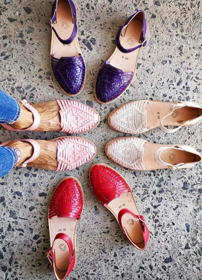 cutest Huarache sandals