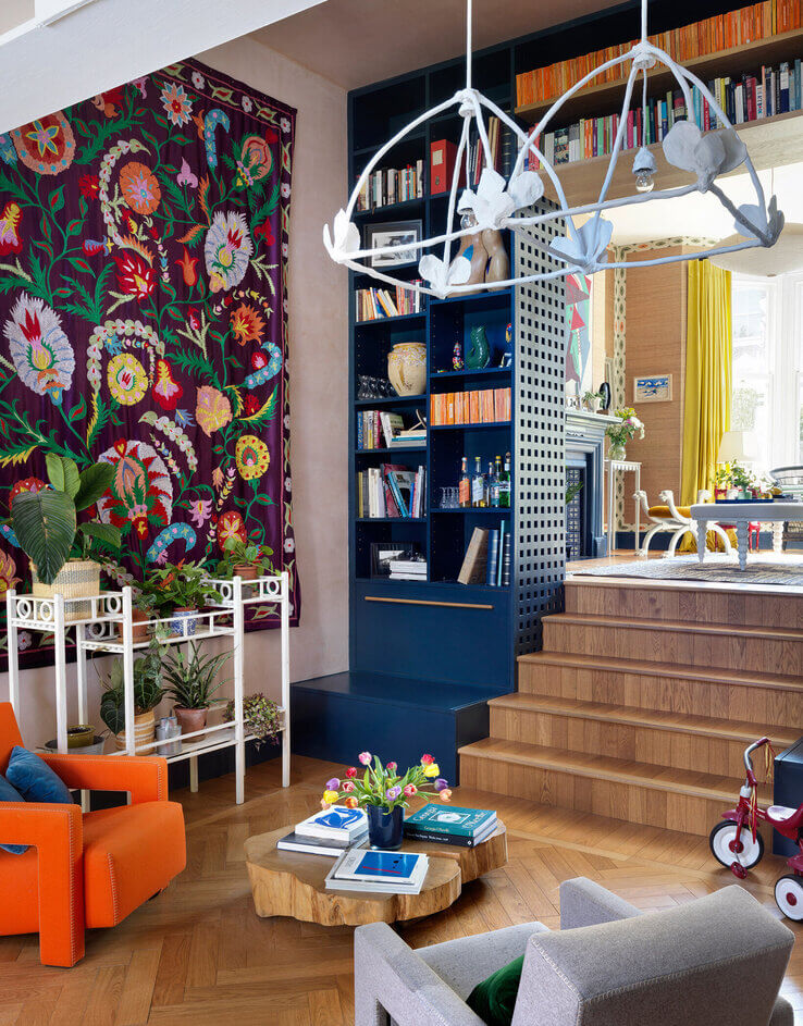 A+Colourful+London+Family+Home