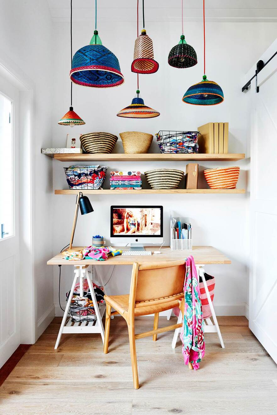 colourful family cottage