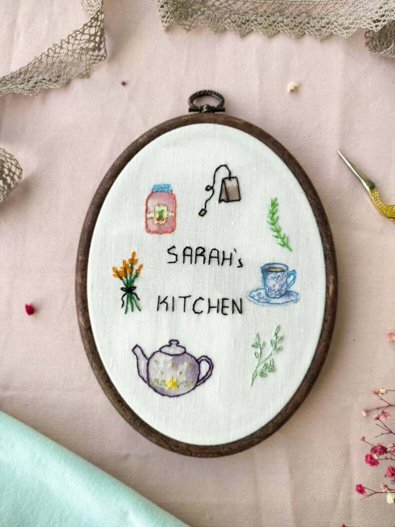 Personalized Embroidery hoop