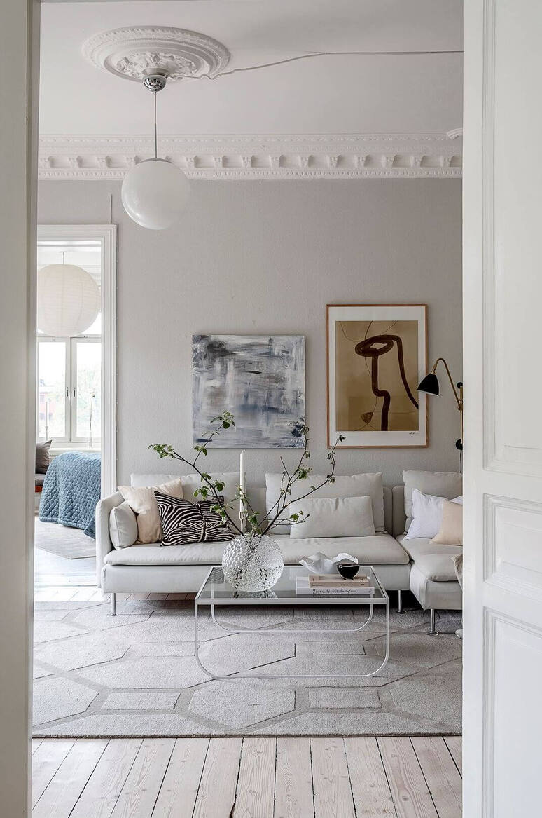 scanidnavian living room